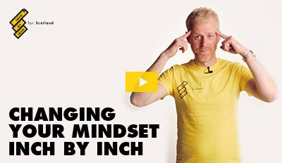 Changing Your Mindset Inch By Inch