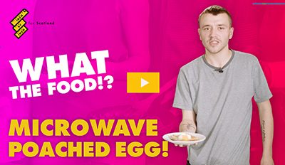 Microwave Poached Egg!